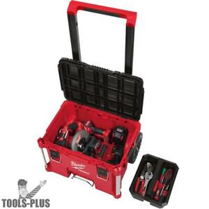 Milwaukee 48 22 8426 Packout Rolling Tool Box New