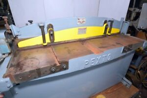 Pexto Roper Whitney Model Ph 52 A Shear inv 38749