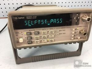 53181a Hp Agilent Dual Channel Frequency Counter Timer 225mhz 12 4ghz