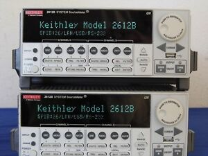 Keithley 2612b Dual Channel Sourcemeter