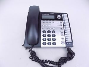 At t 1070 4 line Small Business Speaker Phone System Compatible W 1040 1080