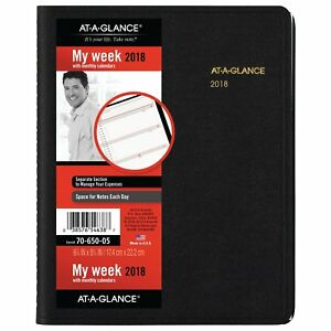 At a glance 70 650 05 Weekly monthly Appointment Book 6 7 8 X 8 3 4 7065005
