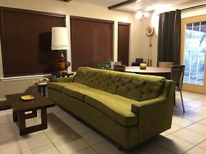 Vintage Mid Century Modern Couch Sofa
