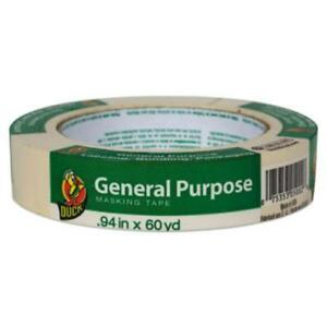 The Dial 284367 General Purpose Masking Tape 0 94 X 60 Yds Beige 36 pack