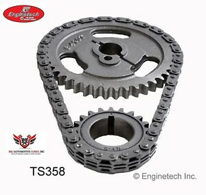 Enginetech Ford 302 351w Windsor Timing Gears And Timing Chain 1972 1988