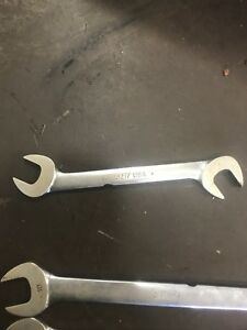 Vintage Snap On Tools Vsm5217 17mm 4 Way Open End Wrench Old Logo Made In Usa