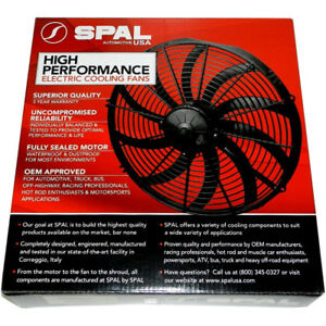 Spal 30102049 Puller Fan 16in High Performance Curved Blade Use W 30amp 2024cfm