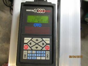 Otc Monitor 4000 Enhanced Diagnostic System Scan Tool Pathfinder 1996 Ford Iii