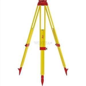 Theodolite Level Laser Gst20 9 For Total Station Leica Wooden Tripod New Sw