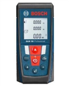 1pcs With 50m Range And Backlit Bosch Glm50 Laser Distance Measurer Ik