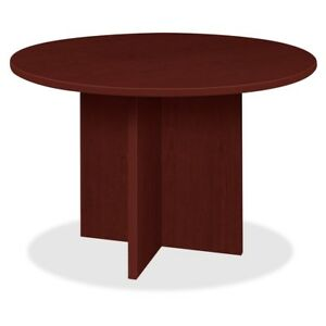 Lorell Prominence Round Laminate Conference Table pt42rmy