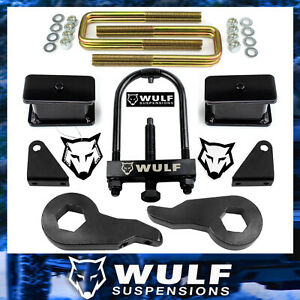 3 Lift Kit 2001 2010 Chevy Silverado Gmc Sierra 2500hd 3500hd 2wd 4x4 W Tool