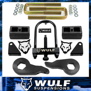 3 Front 2 Rear Lift Kit 2001 2010 Chevy Silverado Gmc Sierra 2500 3500 Hd Tool