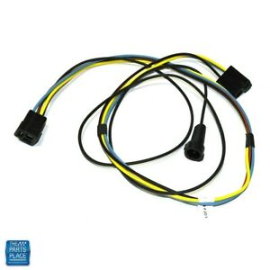 1969 1972 Gto Lemans heater Wiring Harness