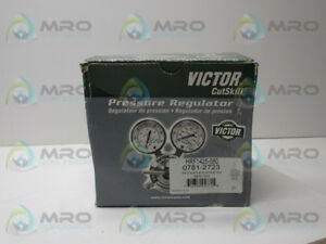 Victor Hrf1425 580 Regulator Flowmeter New In Box