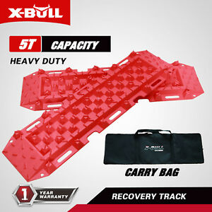 X Bull Recovery Traction Off Road Tracks Sand Snow Track Tire Ladder 4wd Red
