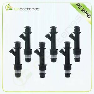 Fuel Injectors 6 For Chevy Malibu Buick Century 3 1l 2001 2002 2003 25323971