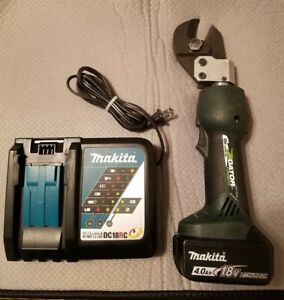Greenlee Gator Es20l Cable Cutter With Makita 18v Battery