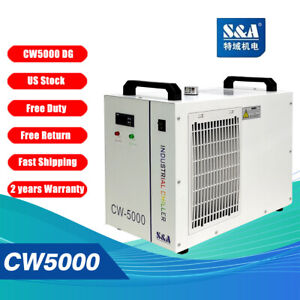 Original S a Cw 5000 Dg 110v Water Chiller Cool 80w 100w Co2 Laser Tube Ce Rohs