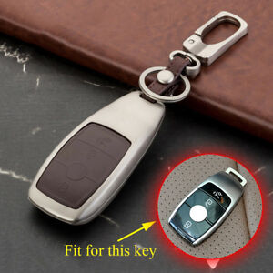 Key Ring For Benz E S Class W213 Accessories Key Fob Case Holder Shell Box Cover