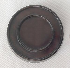 3 5 Brown Chinese Oriental Solid Wooden Lid Cap Cover For Ginger Jar And Vases
