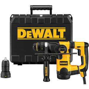 Dewalt D25324kr 1 Heavy Duty 8 Amp Sds Rotary Hammer Kit W Quick change Chuck