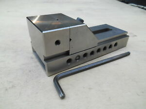 Machinist Grinding Vise With 3 Wide Jaws
