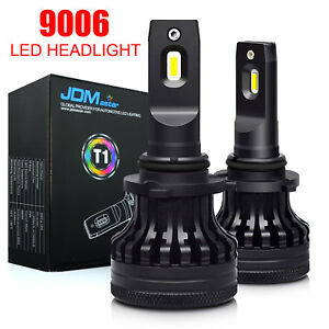 2x9006 Hb4 Extremely Bright Led Headlight Bulbs Kit Low Beam 6000k 10000lm White