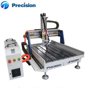 6090 3 Axis Mini Cnc Router Wood Carving Machine With Aluminum T slot Table
