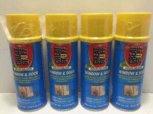 4 Great Stuff Window And Door Insulating Foam Sealant 12 Oz Can New