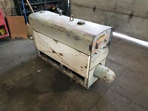 1960 Sa 200 Red Face Runs Nice New Battery Tail Bearing Lincoln Welder 1550 Rpm