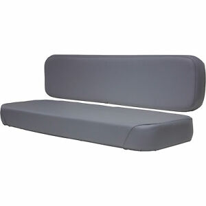 K m Kubota Rtv Bench Seat Vinyl Gray Model 8380