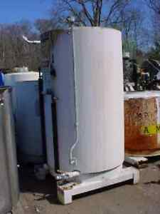 450 Gallon Stainless Steel Jacketed Tote Tank Slant Bottom_open Or Closed Top