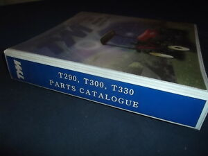 Tym T290 T300 T330 Tractor Parts Manual Book Catalog