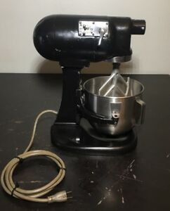 Hobart N50 5 Qt Commercial Countertop Mixer 120v 1 6 Hp Works Great
