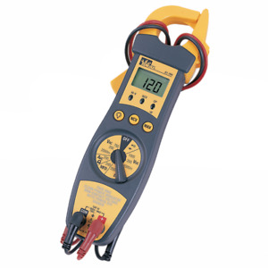 Ideal Electrical 61 704 200a Clamp Meter W backlight
