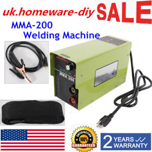 110v 220v Mma 200 Electric Welding Machine 20 120a Arc mma Inverter Igbt Welder