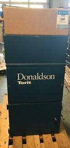 Donaldson Torit 60 Cab 3 4 Hp Dust Collector W Shaker Pedal And Filter
