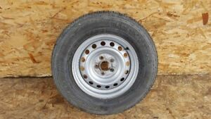 01 04 Toyota Tacoma 15 Inch Wheel Rim Steel Spare With Tire Oem