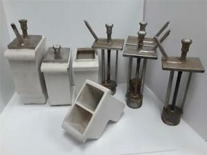 Lot Of Vintage Stanley Knight Soda syrup Dispensers hall 4 Extra Pumps