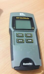 Ideal Vdv Multimedia 33 856 Cable Tester