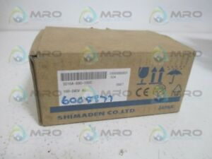 Shimaden Sd16a 890 1000 Temperature Regulator 100 240vac new In Box
