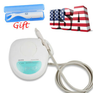 Dental Portable Ultrasonic Piezo Scaler Cleaning Handpiece Fit Ems 4 Tips floss
