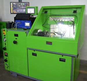 Common Rail Injector Pump Test Bench With Injector Coding Digital Flow meters
