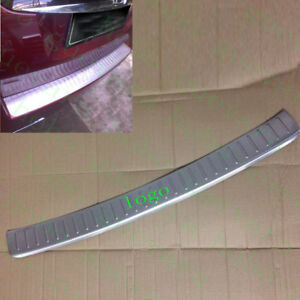 1x Car Outer Rear Bumper Protector Sill Plate Cove For Honda Crosstour 2010 2013