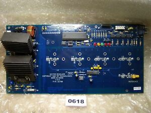0618 Rf Technologies 32790 Pc Board Vector Resolver