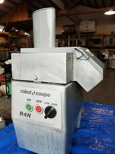 Robot Coupe R4n Food Processor Chute Chopper Cutter Continuous Feed Slicer Veg