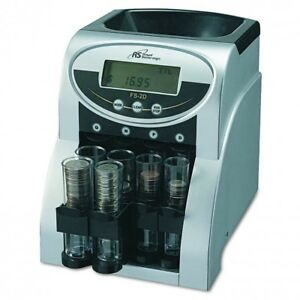 Coin Sorter Money Counter Machine Change Count Sort Stack Wrapper Coins Anti jam