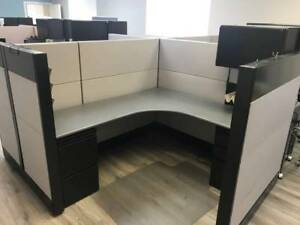 Nice Herman Miller ethospace 6 x6 Office Cubicles Workstations