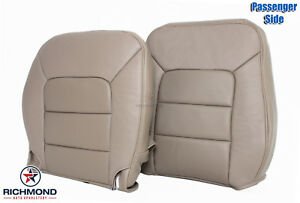 05 06 Ford Expedition Limited passenger Side Complete Leather Seat Covers Tan